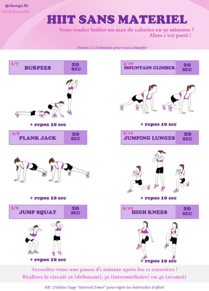 Exercice Cardio Maison Sans Materiel   Ventana Blog