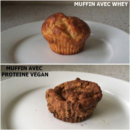 muffins healthy vegan et protéinés à la vanille sans sucre sans beurre pour la musculation