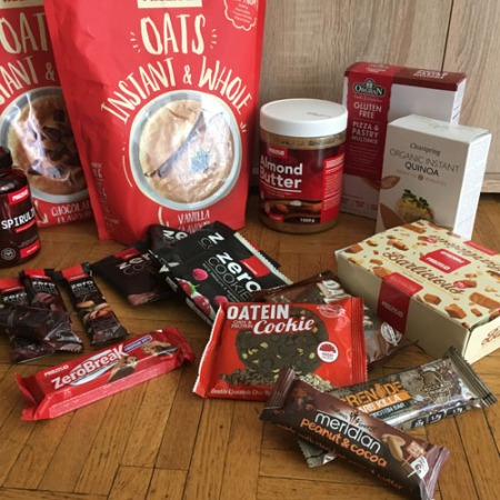 Commande prozis, avis produits prozis dont instant oats, zero cookie, zero break, almond butter