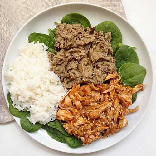 Recette healthy de poulet effiloché à la sauce bbq