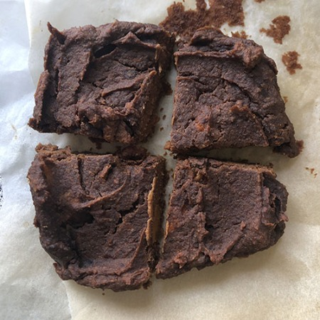 brownie healthy et vegan à la patate douce sans datte