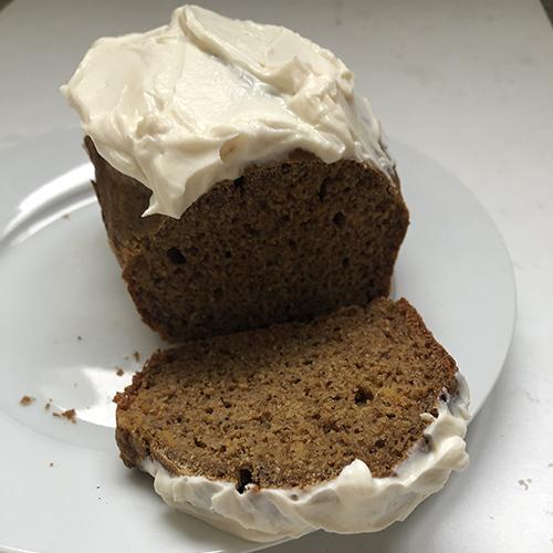 recette de cake protéiné à la courge sans sucre et sans matière grasse