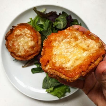 recette de tarte à la courge butternut et fromage allégée et healthy