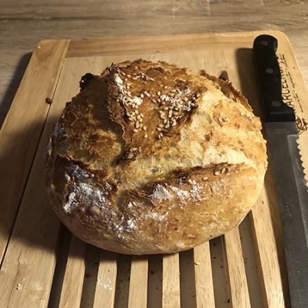 recette de pain à l'épeautre maison avec levure fraîche