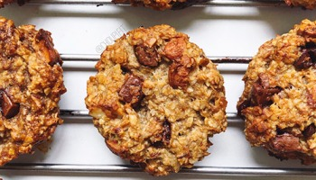 recette healthy de cookies vegan aux pépites de chocolat
