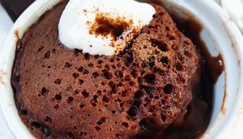 recette de fondant au chocolat healthy et light sans beurre au micro onde