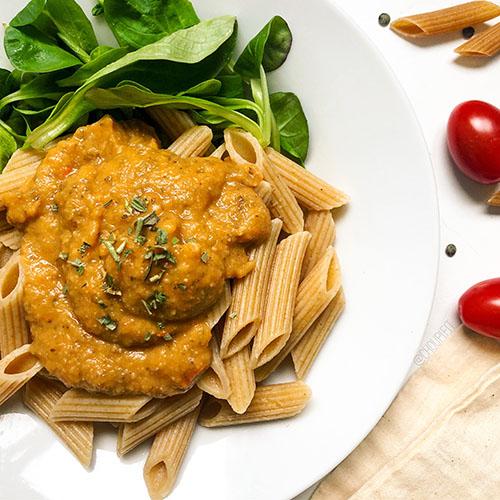 recette sauce aux lentilles vertes végétariennes