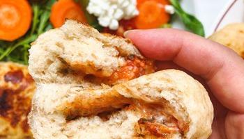 Recette facile et rapide de pain à la levure chimique cuit à la vapeur sans temps de repos