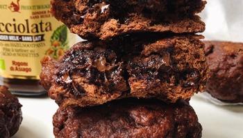 recette vegan et healthy de pain au cacao maison cuit à la vapeur sans sucre ajouté et sans lactose